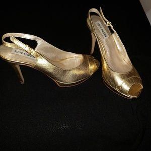 Steve Madden Gold Heels